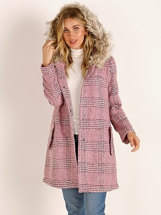 BB Dakota Pink Slip Jacket Light Fuschsia