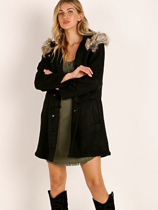 BB Dakota Coat To Cozy Jacket Black
