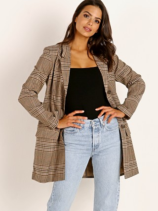 BB Dakota Check This Out Jacket Brown