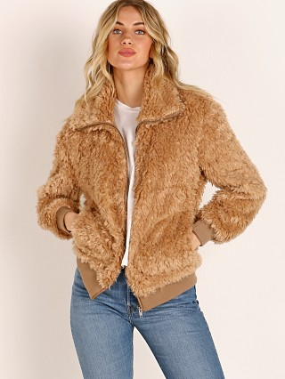BB Dakota Teddy or Not Jacket Camel
