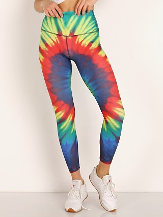 Splits59 Bardot 7/8 High Waist Legging Tie Dye