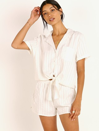 Splendid Notch Collar PJ Set Cloud Dancer