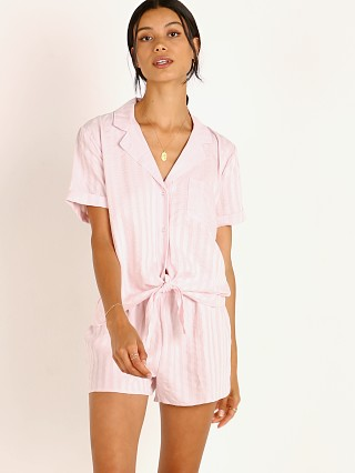 Splendid Notch Collar PJ Set Primrose Pink