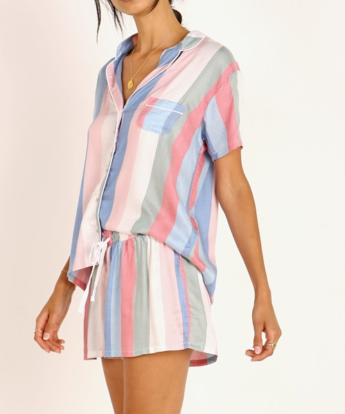 Splendid Shortie PJ Set Island Stripe