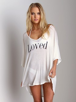 Wildfox Couture Tahiti Tunic Loved Foam