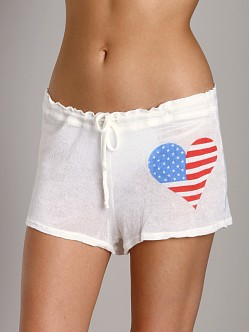 Wildfox Couture American Beach Party Seychelles Shorts Foam