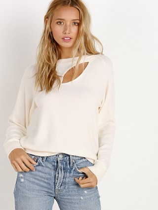 LNA Clothing Brushed Phased Top