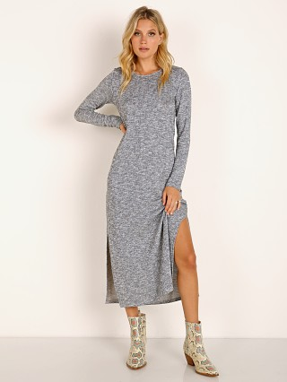 Model in sweater knit Show Me Your Mumu Maddison Dress