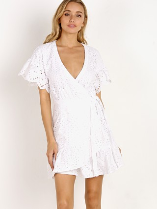 Suboo Hold On Wrap Dress White