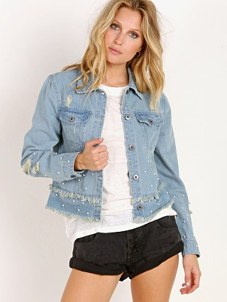 BB Dakota Eisley Denim Jacket Light Blue