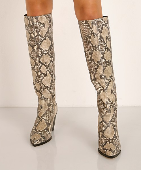 Dolce Vita Isobel Boot Black + White Snake