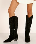 Dolce Vita Solei Boot Black Suede, view 3