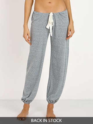 Model in heather Eberjey  Cropped Pant