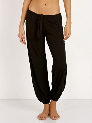 Complete the look: Eberjey Heather Cropped Pant Black