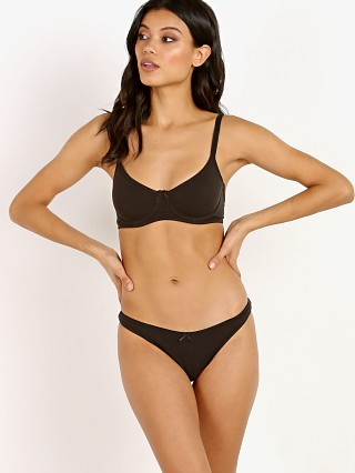 Complete the look: Eberjey Pima Goddess Classic T-Shirt Bra Black