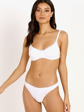 You may also like: Eberjey Pima Goddess Classic T-Shirt Bra White