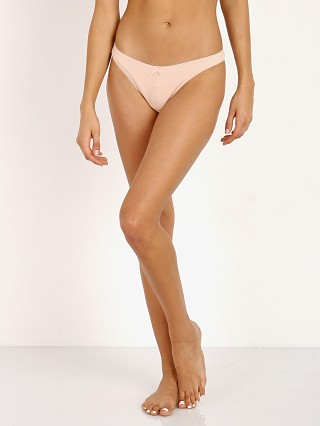 Complete the look: Eberjey Pima Goddess Thong Buff
