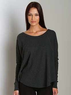 Free People Thermal Love Bug Black