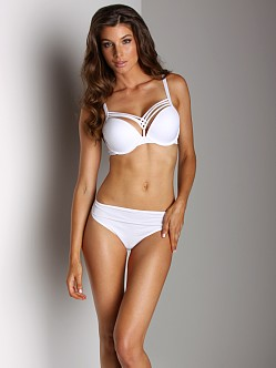 Marlies Dekkers Dame De Paris Push Up Bra White