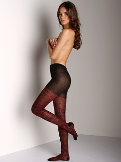 Free People Velvet Rose Tights