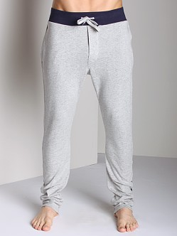 Diesel Cotton Jaquard Massi Lounge Pants Grey