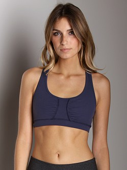 Beyond Yoga Tear Drop Bra Navy