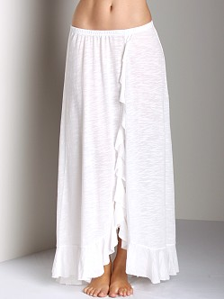Free People Cascade Convertible Skirt Ivory