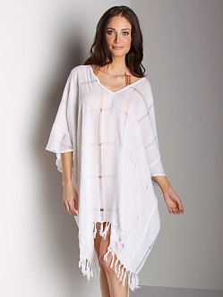Tigerlily Silver Swift Cover Up White