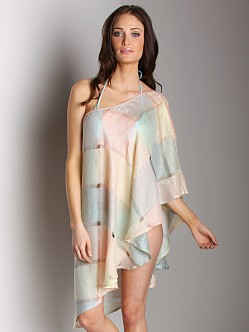 Tigerlily Southern Silver Cover Up Top Quartz
