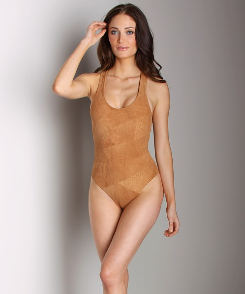 Tigerlily Suede One Piece Natural