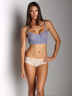 Free People Underwire Bra Frosted Periwinkle
