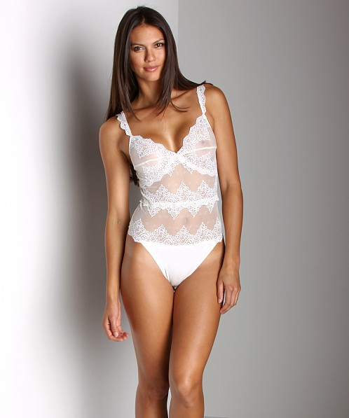 Only Hearts So Fine with Lace Body Suit with Lace Cream
