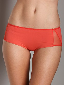 Only Hearts Solid Peek A Boo Hipster Red Coral