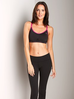 Puma Pro-Tech Womens Sports Bra Black/Purple