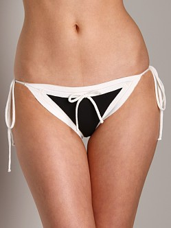 Undrest French String Bottom Black