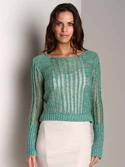 Free People Pullover Sweater Lilypad