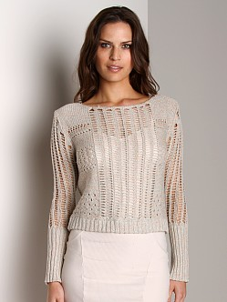 Free People Pullover Sweater Sherbert