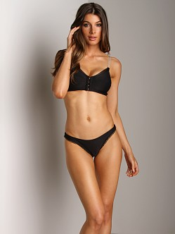 Stella McCartney Lulu Reading Thong Breif Black