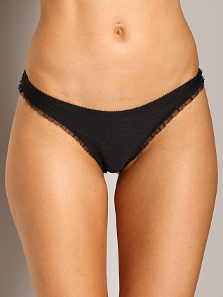 Complete the look: Stella McCartney Lulu Reading Thong Breif Black
