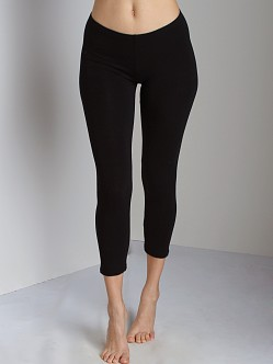 Splendid Crop Legging Black
