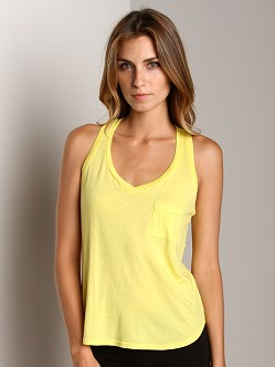 Splendid V-Neck Tank Lemoncello