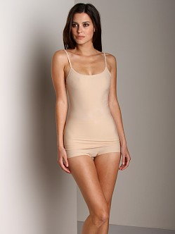 Nearly Nude Smoothing Cotton Camisole Almond