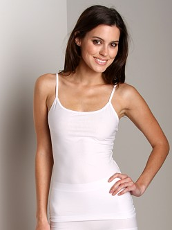 Nearly Nude Smoothing Cotton Camisole White