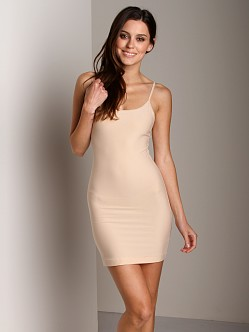 Nearly Nude Smoothing Cotton Slip Almond