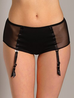 Only Hearts LouLou Hipster With Garter Black