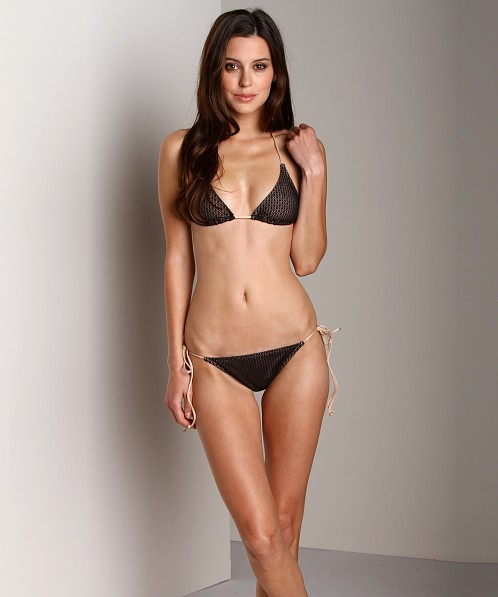 Cali Dreaming String Bikini Black Diamond