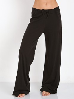 Only Hearts Organic Cotton Drawstring Pant Black