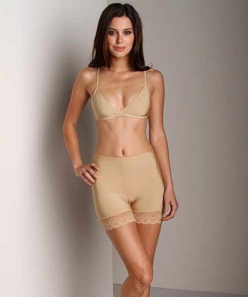 Only Hearts Second Skin Mini Bike Short Nude