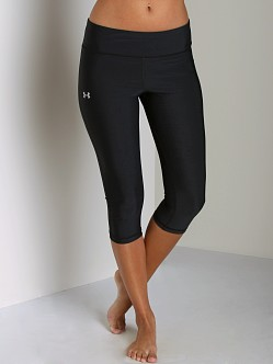 Under Armour HeatGear Lunge 17 Capri Black