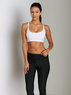 Under Armour HeatGear Seamless Essentials Bra White